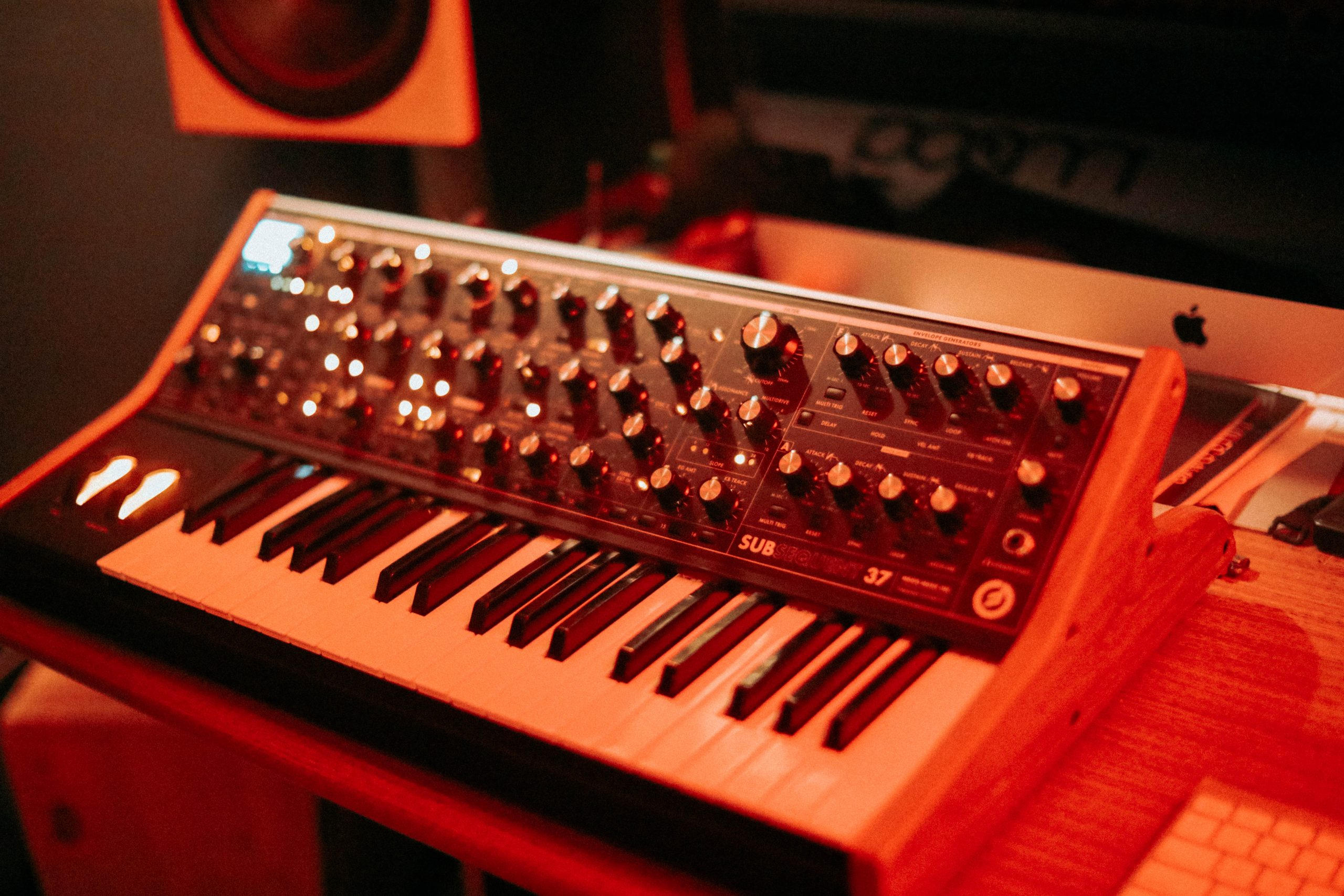 Moog at Driftwork Sound Recording Studio in Austin